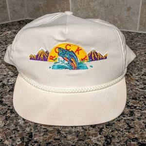 Rare Vintage Rocky Mountain Snapback Hat From 1988